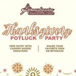 Thanksgiving Potluck Dance