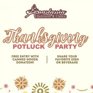 Thanksgiving Potluck Dance