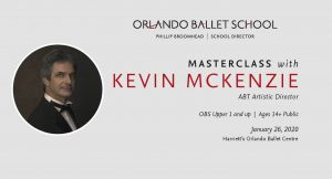 Orlando Ballet Master Class with Kevin McKenzie