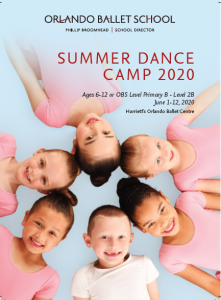 Jr. Summer Dance Camp (Ages 3-5)