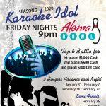 Enter Aloma Bowl's Karaoke Idol for a chance to win $1,000