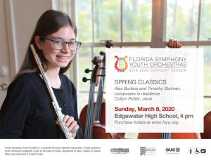 Florida Symphony Youth Orchestras Presents Spring Classics Concert