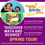 "MicheLee Puppets' ""Discover Math and Science"" at Orange County Libraries"