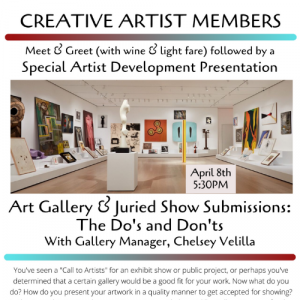 The Do's and Don'ts of Gallery Submissions