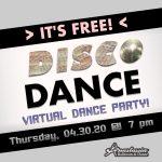 Free Virtual Disco Dance Party