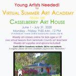 City of Casselberry's 2020 Virtual Summer Art Academy