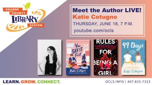 Meet the Author Live: Katie Cotugno