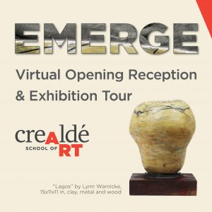 Crealdé's EMERGE Exhibition: Virtual Opening Rece...