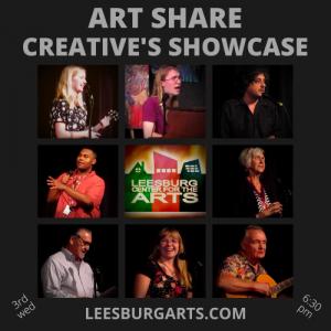 Art Share - Creative's Showcase / Open Stage