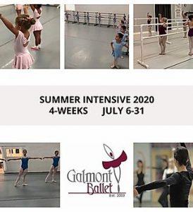 Galmont Ballet Summer intensive 2020