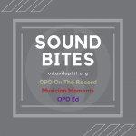 Sound Bites: a Digital Video & Audio Series