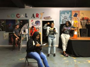 Improv Theatre For Social Change: Numb- Exploring The 5 Senses