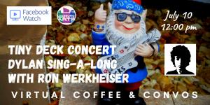 Virtual Coffee & Convos - Dylan Sing-A-Long - ...