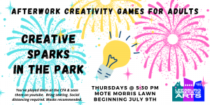Creative Sparks in the Park - Afterwork Creativity...
