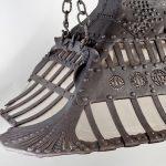 Louis Comfort Tiffany Fireplace Hood Installation