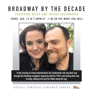 Broadway by the Decade, featuring Becca and Trevor...