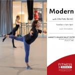 Intermediate Modern with the Orlando Ballet