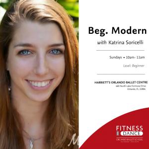 Beginner Modern with Orlando Ballet