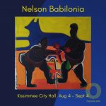 Osceola Arts - Art in Public Places presents Nelson Babilonia at Kissimmee City Hall