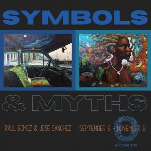 Symbols and Myths art exhbition at Osceola Arts Se...