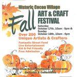 Fall Art & Craft Festival in Historic Cocoa Village