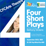 4: Four Short Plays by Orlando Playwright Bethany Dickens