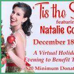 "Virtual Cabaret: ""'Tis The Season"" featuring Natalie Cordone"