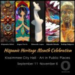 Osceola Arts- Art in Public Places at Kissimmee City Hall Sept. 11- Nov. 6