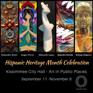 Osceola Arts- Art in Public Places at Kissimmee Ci...