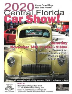 Fall Central Florida Car Show in Historic Cocoa Vi...