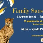 Family Sunset at the Zoo, presented by VyStar Credit Union.