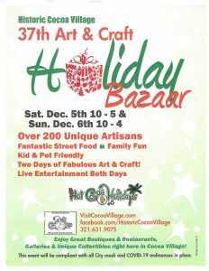 Art & Craft Holiday Bazaar in Historic Cocoa V...