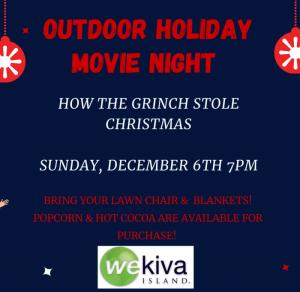 Outdoor Movie Night at Wekiva Island: The Grinch