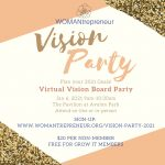 Vision Party hosted by WOMANtrepreneur