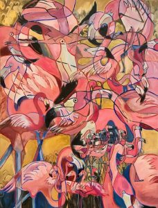 Exhibit: Perspectives in Process, by Featured Artist, Catherine Van Lancker