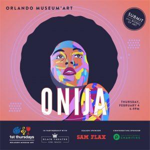 1st Thursdays: February - Onija