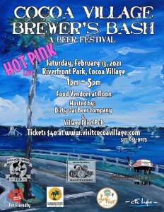Cocoa Village's 2nd Annual Brewer's Bash