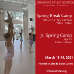 Orlando Ballet Jr. Spring Break Camp