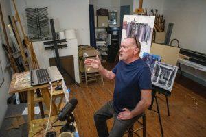 Artist's Critique and Conversation