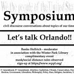 Symposium with Banks Helfrich