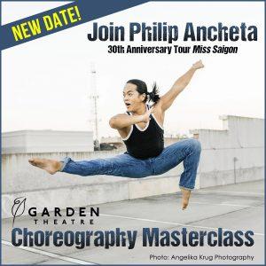 Choreography Masterclass with Miss Saigon's Philip...