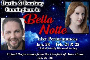 Spotlight Cabaret Series featuring Dustin & Courtney Cunningham