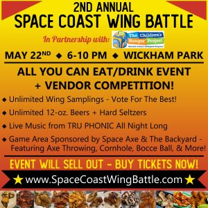 2nd Annual Space Coast Wing Battle in Partnership ...