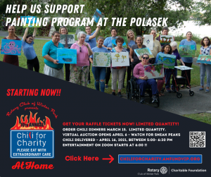 Rotary Chili for Charity Fundraiser
