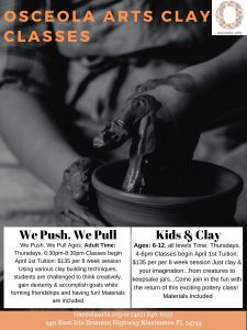 We Push, We Pull (Adult Pottery)