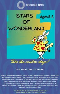 Stars of Wonderland (Actors Ages 5-8)