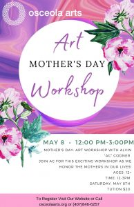 Mother's Day Art Workshop