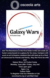 Galaxy Wars: Art Fusion Camp