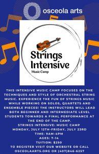 Strings Intensive: Music Camp