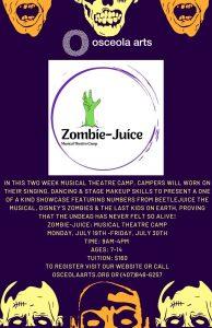 Zombie-Juice: Musical Theatre Camp